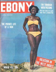 Jet Magazine, Black Magazine, Vintage Magazines, Vintage Ads, Vintage Photos, Ebony Magazine Cover, Magazine Covers, Vintage Black Glamour, Dark Skin Girls