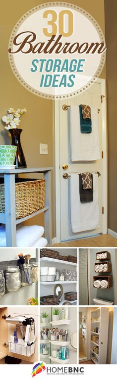 30 Best Bathroom Storage Ideas to Save Space