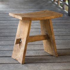 Possible extra seating for table Diy Furniture, Outdoor Furniture, Outdoor Decor, Uttermost Mirrors, Modern Bar Stools, Wood Bathroom, Quito, Teak Wood, Counter Stools