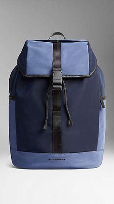 Burberry Spring 2015 - Colour Block Lightweight Backpack