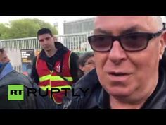 France: Striking workers blockade waste treatment centre in labour law p...