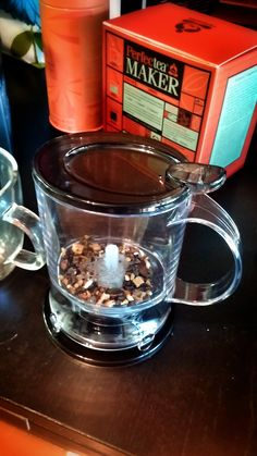 Teavana Perfect Tea Maker the ultimate companion to #TeavanaFallFavorites teas like Pumpkin Spiced Brulee (