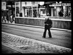 crossing the street, #photography