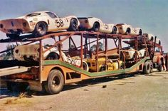 12 HOURS OF SEBRING 1968 907 Porsche Transporter...Sebring, what a strange trip that is!