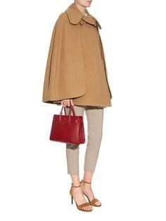 Point-collar wool-blend cape | Chloé | MATCHESFASHION.COM