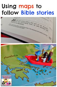 Using maps to teach Bible stories