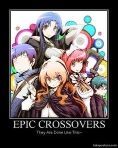 Epic crossover - Zero no Tsukaima & Toradora All Anime, Manga Anime, Anime Art, Anime Stuff, Zero No Tsukaima Manga, Dojo, The Familiar Of Zero, Anime Group, Anime Child