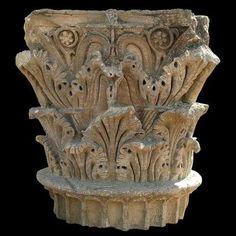 Segobriga, imágenes, 43. Capiteles romanos de Segobriga. Roman Sculpture, Columns, Ancient History, Romans, Wood, Big Top
