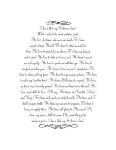 "I wanted something meaningful for my Easter display this year to remind us what that Easter is more than bunnies and baskets full of treats. I made this printable with the words to ""I Know That My Redeemer Lives"" a hymn written by Samuel Medley. - A Little Tipsy"