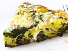 Easy Spinach Frittata Recipe - Fitness For Women by Flavia Del Monte