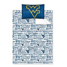 West Virginia Mountaineers NCAA Twin Sheet Set (Anthem Series)