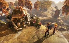 Brothers a tale of two sons. An amazing, emotional, heart tearing, beautiful artwork kind of game.