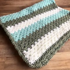 Every new little baby needs their own special blanket – at least that's what I think! I love the versatility of this Granny Stripe Pattern you can find here. You can make it in any colo…