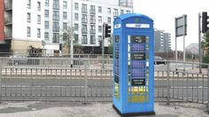 well...more like community technology but perhaps a little lighter blue than the Tardis or is it just the photos?