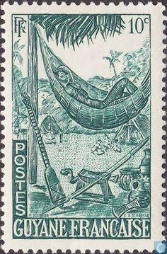 1947 French Guiana - Hammock