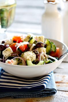 love greek salads!