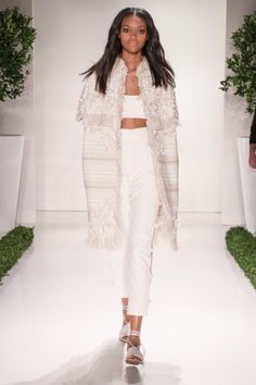 Rachel Zoe's SS16 collection channels the gypset in all of us, full of late 70's and early 80's glamour.
