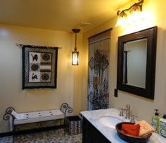 Safari Themed Bathroom | Safari Themed Guest Bath. I Selected Every Element  In This Room