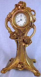 Antique German Art Nouveau Clock | eBay