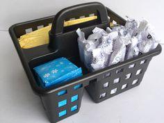 Budget-Friendly Bathroom Storage - Lemons, Lavender, & Laundry