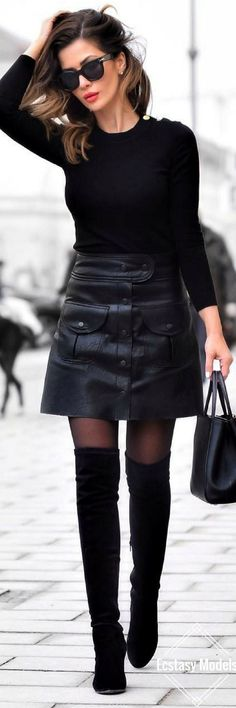 We know what you're thinking. Miniskirts? Mid-January? Have faith, kind readers.