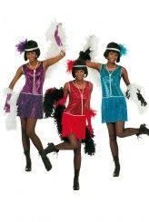 Une envie d'années folles ? une envie de Charleston. Rendez-vous dans notre rubrique déguisements années 20 où vous serez charmée par tant de classe et de raffinement !http://www.deguisement-magic.com/deguisements/deguisement-femme/annees-20-cabaret-charleston.html