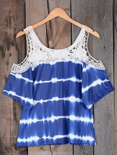 Channel your love of chic styles this summer in this stunning cold shoulder top. So cute and casual for hot days!