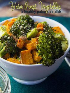 Za'atar Roasted Vegetables — Foraged Dish
