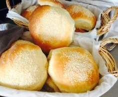 Recette pain hamburger moelleux par aurorep88 - recette de la catégorie Pains & Viennoiseries