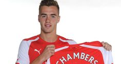 Chambers Signs For Arsenal - http://www.4breakingnews.com/sport-news/chambers-signs-for-arsenal.html