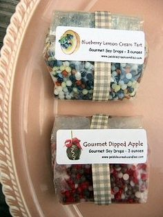 Scented Tarts, Wax Chips, Wax Melts, Candle Melts, Scented Wax Potpourri - (You should see their scents! Making candles from beads takes seconds. It's so easy and fun to watch as it melts. You can also use the beads in a wax melter bowl. Candle Melts, Tart Molds, Making Candles, Candle Making Supplies, Wax Tarts, Homemade Candles, Wax Warmer, Scented Wax, Potpourri