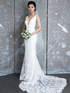 LEGENDS by Romona Keveza Spring 2019: Classic Wedding Dresses Inspired by Fashion Icons   TheKnot.com