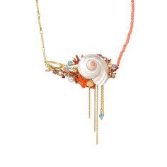 Les Néréides - Fond Marin Necklace