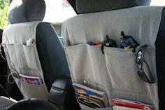 car organizer tutorial: