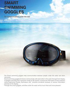 Smart Swimming Goggles by Han Chanhee, Kim Juyoung, Han Dhojin & Kwon Yoonjoo