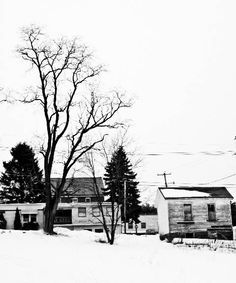 """A Bleak Winter""  (Loretto, Pa.)"