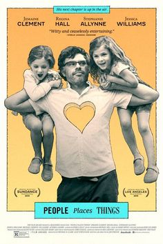 People, Places, Things (2015) Flight of the Conchords' Jemaine Clement stars in this tender comedy about an artsy New Yorker who has to rebuild his life as a single dad — and, you know, find himself — after walking in on the mother of his children with someone else. Available November 15 #refinery29 http://www.refinery29.com/2015/10/96120/netflix-november-2015-new-releases#slide-34