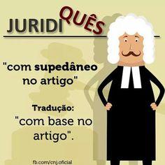 Supedânio #Direito #Juridiquês
