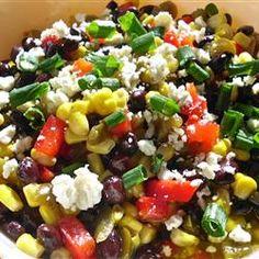 Black Bean and Feta Cheese Ugly Dip Allrecipes.com
