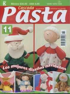 Muñecos navideños porcelana fria