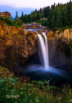 Snoqualmie falls (Washington) by Aleespitia Photography on 500px