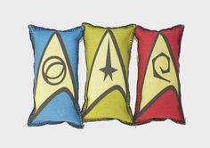 Star Trek Inspired Catnip Toy Set of All Three by DuaeCat on Etsy, $6.00