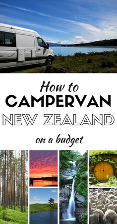 Step by step guide on how to Campervan around New Zealand on a budget. Doing a road trip through New Zealand is the best way to enjoy the country. Freedom camping allows you to camp for free with the right campervan. We rented a fully contained campervan Camping Places, Camping Car, Places To Travel, Travel Destinations, Camping Tips, Camping Trailers, Backpacking Tips, Camping Essentials, Camping Stuff