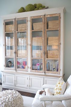 love this storage cabinet