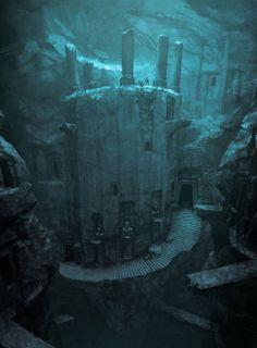House of Crom (Temple à l'intérieur d'une caverne)