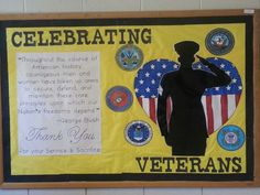 Make Canadian for Remembrance Day of Course! Christian Bulletin Boards, Library Bulletin Boards, Bulletin Board Display, Veterans Day Meaning, Veterans Day Coloring Page, Veterans Day Celebration, November Bulletin Boards, Veterans Day Activities, Upper And Lowercase Letters