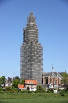 Cunera kerk in de steigers