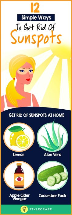 Are sunspots stopping you from stepping out into the sun? They can be really difficult to cover up, and if you are not a fan of makeup, these spots can easily ruin your look. Worry not. We bring to you multiple home remedies that can be used to get rid of sunspots.