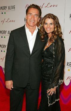 Arnold Schwarzenegger zeugte ein Kind mit dem Hausmädchen, hier mit Ehefrau Maria Shriver