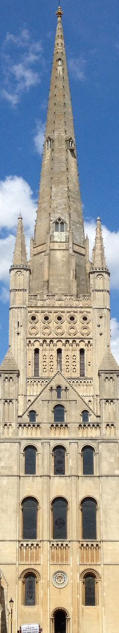 16: spending the day in Norwich, always overlooked by this tower